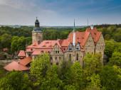 Czocha castle in spring, Lower Silesia, Poland