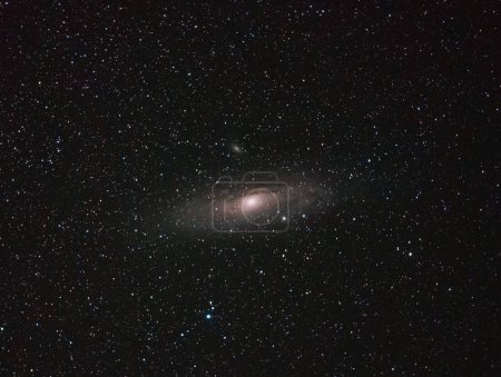 Andromeda Galaxy, shot with a 135mm lens, deep space