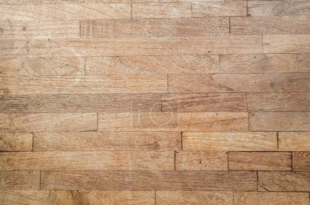 Foto de Fondo con textura madera antiguo y envejecido en color marrón - Imagen libre de derechos