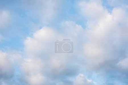Photo for Nature background of white clouds on blue sky - Royalty Free Image