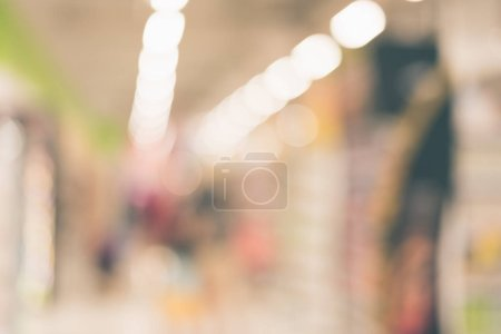 Photo pour Fond abstrait du centre commercial, faible profondeur de mise au point. - image libre de droit