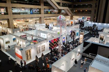 Photo for Taipei, Taiwan - October 20th, 2019: Art Taipei Expo is the landmark of Asian Art at Taipei, Taiwan - Royalty Free Image