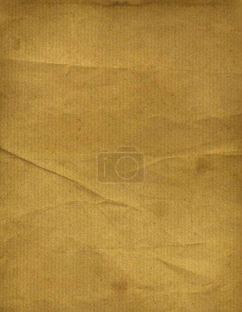 Foto de Fondo de textura de papel marrón viejo. Papel pintado grunge - Imagen libre de derechos