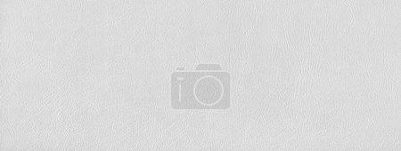 Foto de Fondo de textura de cuero blanco. Banner de material natural . - Imagen libre de derechos