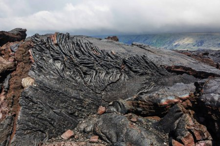 Photo pour Flux de lave sur Big Island, Hawaï - image libre de droit