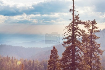 Mountain peak  scenic view