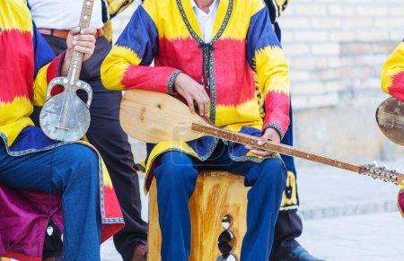 Photo for Folk Uzbek percussion musical instrument Doyra - Royalty Free Image