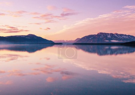 Photo for Serenity lake in Alaskan tundra - Royalty Free Image