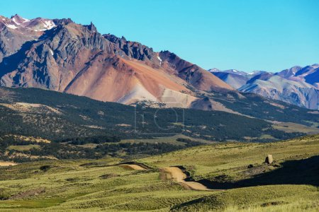 Scenic landscapes of Northern Argentina. Beautiful...