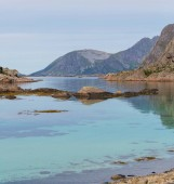 """Постер, картина, фотообои """"Живописные пейзажи Северной Норвегии"""""""
