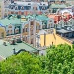 Amazing view of Vozdvizhenka, Podol, Kiev, Ukraine...