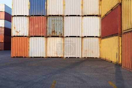 Industrial Container yard for Logistic Import - Export business