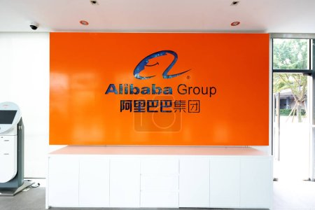 Hangzhou, China - September 10th, 2018: Alibaba Gr...
