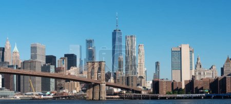Photo for Cityscape of modern city New York - Royalty Free Image