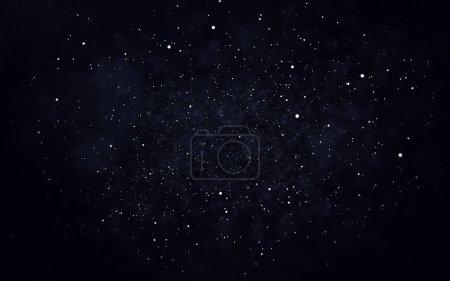 Photo pour Résumé star dust particule fond. illustration 3D - image libre de droit