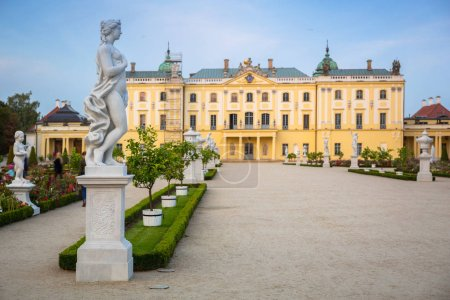 Photo for Beautiful architecture of the Branicki Palace in Bialystok, Poland - Royalty Free Image