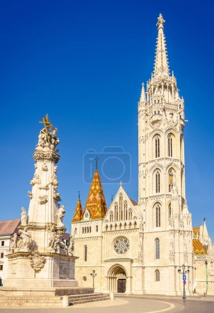Matthias Church in Buda Castle District of Budapest, Hungary