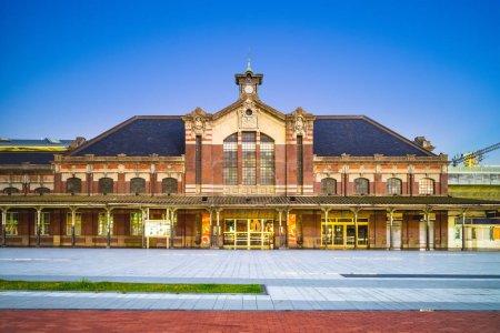 Photo pour Ancienne gare de Taichung à Taichung, Taiwan - image libre de droit