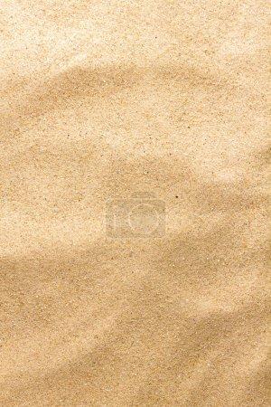 Photo pour Gros plan du motif de sable d'une plage. Contexte d'été . - image libre de droit