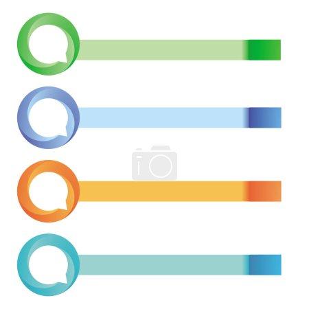 Photo pour Symbole d'information communication, concept - image libre de droit