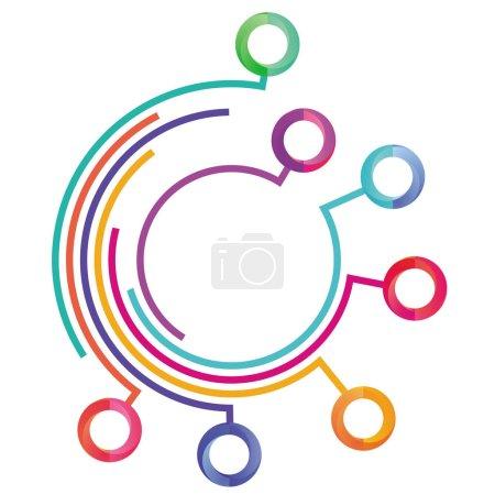 Communication information symbole, concept