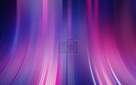 Photo pour Coloré bleu rose violet abstrait texture effet lumière papier peint rendu 3D - image libre de droit
