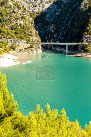 Photo for St Croix Lake, Provence, France - Royalty Free Image