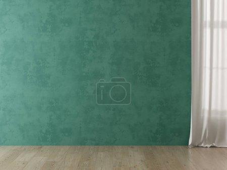 Foto de Representación 3 D de espacio vacío interior - Imagen libre de derechos