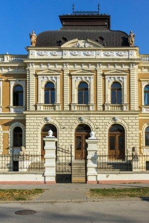 SREMSKI KARLOVCI, VOJVODINA, SERBIA - NOVEMBER 11, 2018: Building of Serbian Orthodox Theological Seminary in town of Srijemski Karlovci, Vojvodina, Serbia