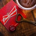 LONDON, UK - APRIL 27, 2018: Original glass of bud...