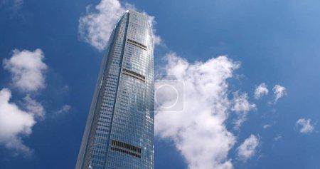 Central, Hong Kong - 31 May, 2018: Business tower