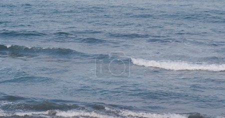 Big sea waves view