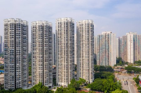Photo for Hong Kong residential district - Royalty Free Image