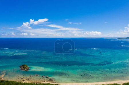 Photo for Top view of sea surface - Royalty Free Image