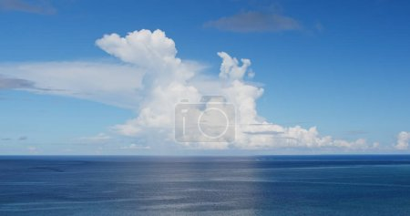 Photo for Clear blue sky and sea in Ishigaki island - Royalty Free Image