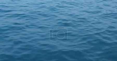 Photo pour Vue d'onde de surface de mer - image libre de droit