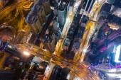 Causeway Bay, Hong Kong 22 February 2019: Top down view of Hong