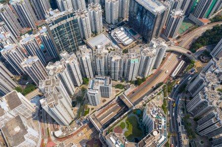 Photo for Tai Koo, Hong Kong - 19 March, 2019: Hong Kong city - Royalty Free Image