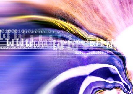 Photo pour Fond abstrait coloré, illustration moderne pour fond de carte ou de sites Web - image libre de droit