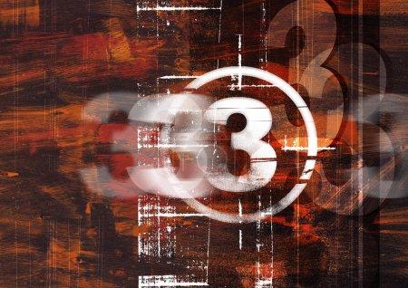 Photo pour Modèle d'arrière-plan coloré pour menu de restaurant ou de café moderne - image libre de droit
