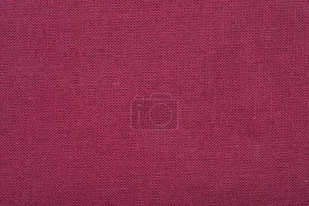 Photo for Detailed red textile material background - Royalty Free Image