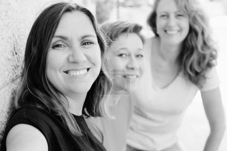 Photo for Three happy middle aged women - Royalty Free Image