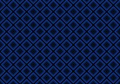 Blue Seamless Geometric Pattern Background - Abstract Squared Illustration Vector