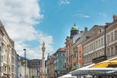 INNSBRUCK, AUSTRIA - June 27, 2018: Triumphal Arch, Innsbruck city, Austri