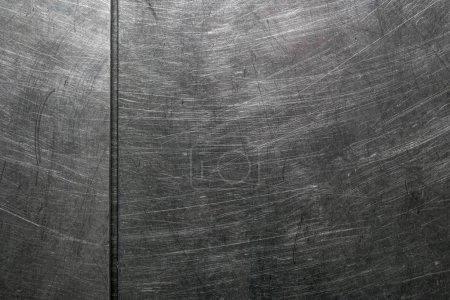 Photo pour Vieille rayé fond de texture en métal, acier - image libre de droit