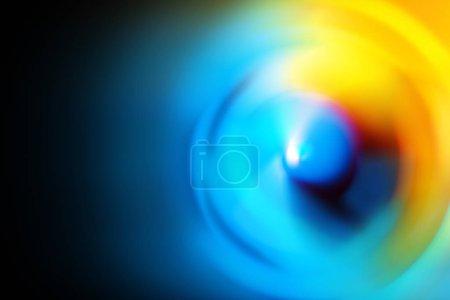 Soft gradient coloré spin abstrait