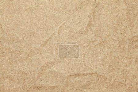 Photo pour Vieux papier froissé fond blanc - image libre de droit