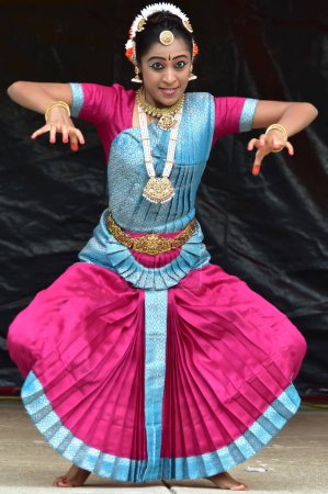 Bloomington, Illinois- USA - Jun 24,2018 - Indian classical dance