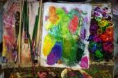 "Постер, картина, фотообои ""Художник палитра нефти краски"""