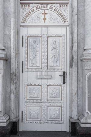Photo pour Belgorod, en Russie - Cirka 2018: Église orthodoxe russe. Chapelle de Saint Vladimir égal-aux-apôtres. Église russe orthodoxe - image libre de droit